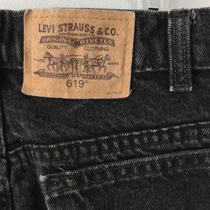 Levi's 619 Dark-wash Jeans Women's Size 33/30